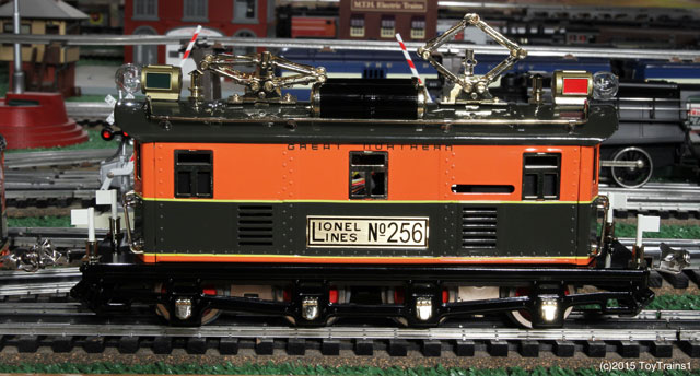 Lionel 256 tinplate locomotive