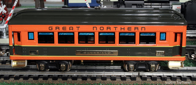 Lionel 710 tinplate coach car
